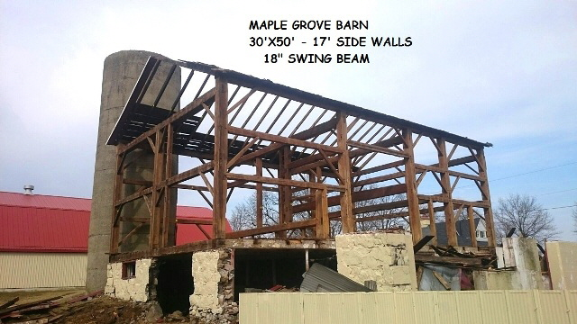 Maple Grove Barn.