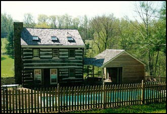Abotts Log House