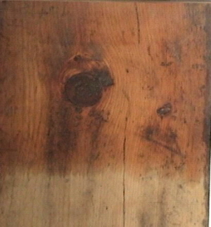 White Pine Board (unfinished/weathered)